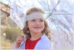 Under my umbrella (Photo-Genie SA) Tags: child girl vintage umbrella canon look away portrait beyondbokeh