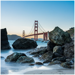 Golden Gate Bridge (Marshall's Beach) (Shaw Horton) Tags: california ca sanfrancisco sf beach landscape goldengatebridge bridge america longexposure nikon nikond7200 sigma sigma1750 bayarea d7200 outdoors ocean outdoor pacificocean pacific sky travel tourism usa unitedstatesofamerica unitedstates view water