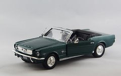 Gotta Get A Mustang--Get A Mustang Now!!! (80's All Week Then More Rain-Yay!) Tags: flickrfriday classic vintage car diecast mustang 1966 darkgreen chrome convertible