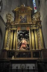 Astorga (León-España). Catedral. Capilla de San Jerónimo Penitente, siglo XVII (santi abella) Tags: astorga león castillayleón españa catedraldeastorga retablos
