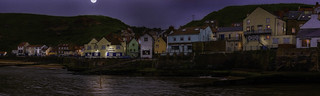 Staithes by Moonlight