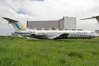 Caspiy Fokker 100 UP-F1002 ALA 22-05-18
