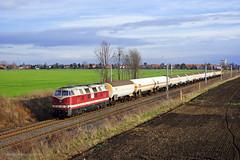 MEG 207 (228 791-0) (Zugbild) Tags: bahn zug eisenbahn train rail railway railroad v180 br118 babelsbergerin kesselwagenzug meg groslehna kötzschau db sachsen anhalt