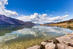 Entre Lac et montagnes - Savoie - (04/2018) (gerardcarron) Tags: calme canon80d ciel cloud eau lac lacbourget lake landscape montagne mountains nature nuages paysage printemps savoie sky