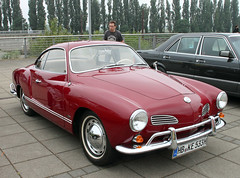 Karmann Ghia (Schwanzus_Longus) Tags: bremen waterfront german germany old classic vintage car vehicle coupe coupé volkswagen vw karmann ghia typ type 14