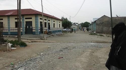 A street in Borama