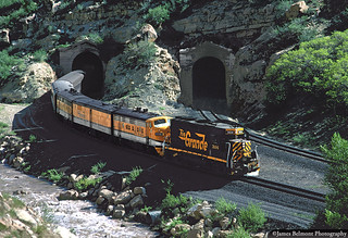 The Nolan Tunnels in Price Canyon
