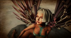 The Heart Is a Lonely Hunter (AmberWild) Tags: angel fantasy beach dreams