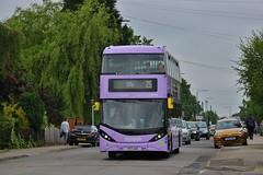 Nottingham City Transport 424 YP17UGR (KA Transport Photography) Tags: nottingham city transport 424 yp17ugr
