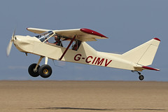 G-CIMV (QSY on-route) Tags: gcimv lancashire landing 2018 fly in knott end beach airfield 09062018