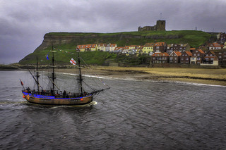 Sail by in Whitby