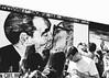 My God, Help Me to Survive This Deadly Love. (justingreen19) Tags: berlin berlinwall berlinwallmural brezhnev coldwar deadlylove dmitrivrubel erichhonecker europe germany honecker leonidbrezhnev street thekiss architecture art city crowds graffiti iconic justingreen19 kiss mural people publicart streetart tourists eastsidegallery