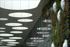 Holes and Domes (herman van hulzen ... pausing) Tags: hermanvanhulzen netherlands nederland leeuwarden nhl noordelijkehogeschoolleeuwarden architecture architectuurstudiohertzberger explore