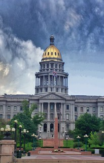 Colorado State Capitol ~ Denver Colorado - Dome