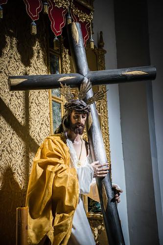 Jesús Nazareno de la Llaga en el hombro