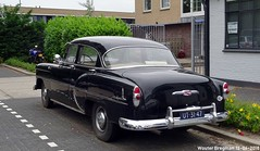 Chevrolet Two-Ten 1953 (XBXG) Tags: ut3147 chevrolet twoten 1953 chevrolettwoten two ten 210 chevrolet210 noir black venserweg diemen nederland netherlands holland paysbas gm general motors vintage old classic american car auto automobile voiture ancienne américaine us usa vehicle outdoor