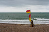 Littlehampton -E6160097 (tony.rummery) Tags: beach em10 flag groyne littlehampton mft microfourthirds omd olympus sea seascape seaside shingle southcoast stormy sussex england unitedkingdom gb