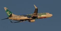 Transavia France / Boeing 737-8K2 / F-GZHE (vic_206) Tags: transaviafrance boeing7378k2 fgzhe bcn lebl