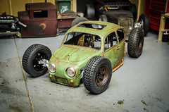 Scratchbuilt Sand Scorcher Volkswagen RCratrod Part 1; Patina & Chassis Fab-4 (Strangely Different) Tags: volksrod rcratrod ratrod rcengineering tinytrucks scaler scalerc rc4wd tamiya sandscorcher volkswagen vw bug beetle hobby rccar crawler kustom patina fabrication