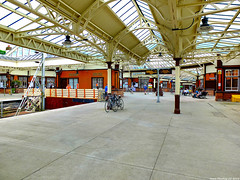 Scotland West Coast Wemyss Bay train station 26 May 2018 by Anne MacKay (Anne MacKay images of interest & wonder) Tags: scotland west coast wemyss bay train station xs1 26 may 2018 picture by anne mackay