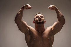 Model Anthony Roberto (Joe Eisel) Tags: columbus ohio usa male man fit fitness body builder competitive bodybuilder portrait tamronsp70200mmf28divcusd beard determined