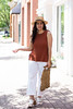 Rust Knit Tank, White wide leg jeans, straw hat, macrame bag-7.jpg (LyddieGal) Tags: aurate rebeccaminkoff uppermetalclass fashion gap gorjana jcrew macramebag mules orange outfit rust spring strawhat style vintage wardrobe weekendstyle white