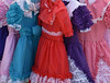 Colorful Dresses (Adventurer Dustin Holmes) Tags: 2018 clothing colorful childrensclothing dresses kidsclothes kidsclothing oldfashioned oldtime oldtimey bakercreekheirloomseedsbakersfieldpioneervillage missouri