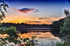 Eternity on the lake (paul.trottier) Tags: usa paultrottier colour beautiful arty colours colourful artistic photo art creative nikon d610 nikkor 28300mm barrington illinois sun lake