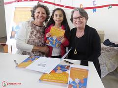"Visita das autoras Maria Eliza e Nilza Siqueira • <a style=""font-size:0.8em;"" href=""http://www.flickr.com/photos/134435427@N04/27749595977/"" target=""_blank"">View on Flickr</a>"