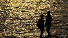 You and Me ❤️ (darkskg) Tags: you me goldenmoment sunset river love couple silhouette lovetoclick nikon nikongear nikond3400 photoshopcc2015