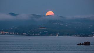Bad moon rising (setting really)