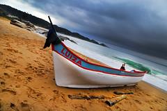 LUIZA (alestaleiro) Tags: boat bote barco canoa pesca fisching playa praia plage strand spiaggia interpraias estaleiro praiadoestaleiro sc santacatarina brasil alestaleiro