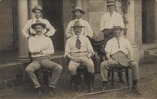Bushmen from Beaudesert serving as special constables during the General Strike in Brisbane, 1912