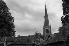 St. Mary's Church, Princes Risborough (IFM Photographic) Tags: img3410a canon 600d ef2470mmf28lusm ef 2470mm f28l usm lseries stmaryschurch saintmaryschurch saint st marys church johnoldridscott blackandwhite bw monochrome