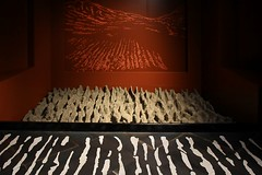 Val d'Aosta - Aosta - Area megalitica di S.Martin de Corleans: arature rituali (mariagraziaschiapparelli) Tags: aosta valdaosta areamegaliticadistmartindecorleans corleans stmartindecorleans museo