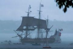 Bateau Fantôme (alize_28) Tags: boat tallship voilier océan mer ocean sea pluie rain fantôme ghost nikon brest bretagne france