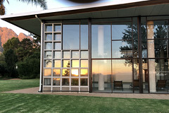 Reflected Sunset (RobW_) Tags: reflected sunset thehydro lindida stellenbosch western cape south africa saturday 17mar2018 march 2018