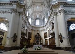 Altar y nave mayor interior Catedral de San Albino Cathédrale Saint-Aubain Namur Belgica 02 (Rafael Gomez - http://micamara.es) Tags: altar y nave mayor interior catedral de san albino cathédrale saintaubain namur belgica valonia bélgica