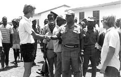 Ghana Commissioner at Ag Station Ghana (Mennonite Church USA Archives) Tags: mennoniteboardofmissions ghana stanfreyenberger rickhostetler