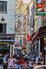 Fourche Greep, Brussels (aleks_ca) Tags: brussels bruselas belgica belgium belgique street food foody