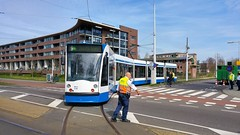 Lijn9 ( 13) (Peter ( phonepics only) Eijkman) Tags: amsterdam city combino gvb tram transport trams tramtracks trolley rail rails streetcars strassenbahn nederland netherlands nederlandse noordholland holland
