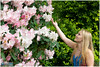 melissa003 (fotoWS5720) Tags: may sunny arboretum trompenburg model girl flowers rotterdam pretty photoshoot fotoshoot portrait fashion modelshoot spring lente woman blond blonde beauty beautiful smile nikon stylish posing modeling photosession outdoors availablelight jeans portraitphotographer holland 女孩 séancephoto фотосессия fotoshooting serviziofotografico gorgeous девушка greendress dress