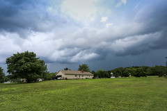 Approaching thunderstorm - Anderson S.C. (DT's Photo Site - Anderson S.C.) Tags: canon 6d 1740mml lens andersonsc upstate southcarolina thunderstorm storm rain hail precipitation rural southern america usa scenic landscape june summer spring weather ominus approaching