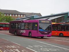 Stagecoach 22773 Nottingham (Guy Arab UF) Tags: stagecoach mansfield 22773 fx09dcf man 18240 alexander dennis enviro 300 nottingham victoria bus station buses