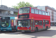 Go Ahead London . PVL392 LK54HAO . Harlow Bus Station , Essex . Wednesday 06th-June-2018 . (AndrewHA's) Tags: harlow essex bus go ahead london volvo b7tl transbus plaxton president pvl 392 lk54hao commercial services route 575 romford shopping service