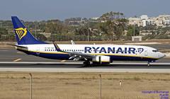 EI-GDI LMML 08-06-2018 (Burmarrad (Mark) Camenzuli Thank you for the 12.2) Tags: airline ryanair aircraft boeing 7378as registration eigdi cn 44809 lmml 08062018