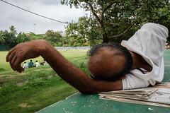 The hand (SaumalyaGhosh.com) Tags: hand people color field four sleep rest green street streetphotography india kolkata fuji fujifilm xt2