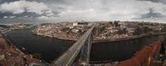 The river runs deep (RuiFAFerreira) Tags: landscape cityscapes porto portugal architecture bridge river canon color exterior panorama