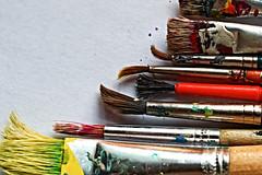 Hand Tool - Brushes (Tanja-Milfoil) Tags: hmm macromondys acrylics pinselset pinsel brushes closeup closer macros makro brush paintbrush milfoil 110618 5300 raynox nikon tanja macromodays handtools handtool macromonday
