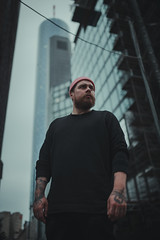 HM2A3468 (ax.stoll) Tags: frankfurt urban city portrait human man beard style street architecture hat fashion